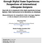 Development of Civic Competence through Digital Game Experiences: Perspectives of international video game designers
